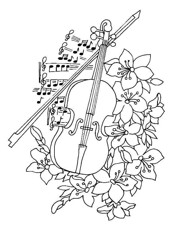 Free Music Coloring Pages Music Notes Coloring Page Free Music ... | 800x600